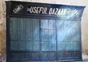 Basar-Eingang