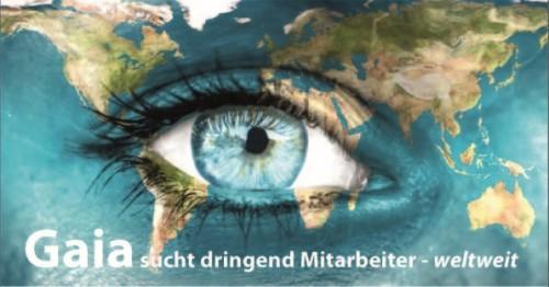 Gaia sucht dringend Mitarbeiter – weltweit!