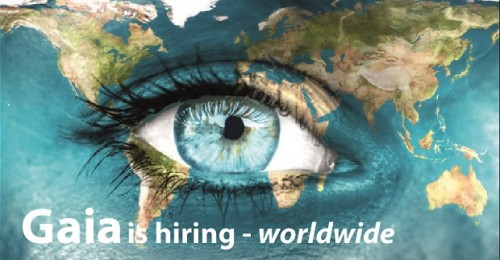 Gaia is hiring – worldwide