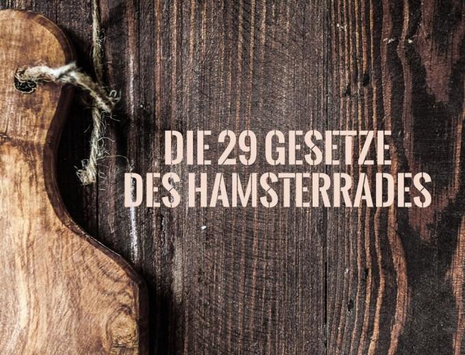 Markus Cerenak – Die 29 Gesetze des Hamsterrades …