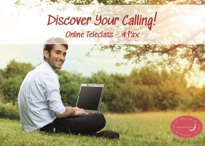 Discover Your Calling – Online Teleclass