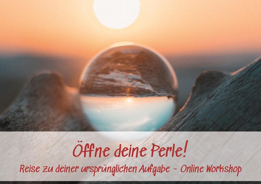 Online-Workshop – Öffne deine Perle!