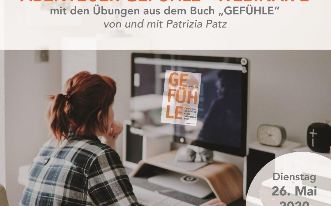Webinar: ABENTEUER GEFÜHLE – Teil 2